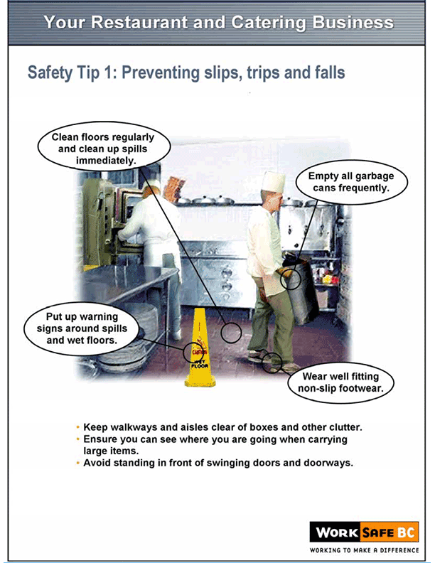 Kitchen Safety Posters and Bulletins