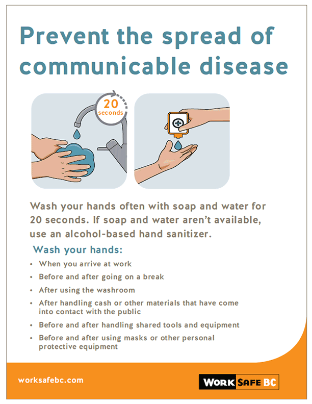 Prevent the Spread of Communicable Disease: Handwashing